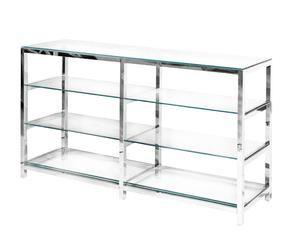 Estanteras de cristal transparente estilo WESTWING