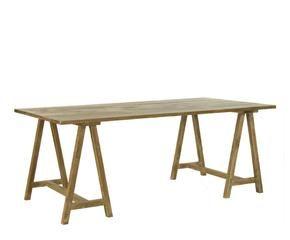 Caballete soporte para cuadros y mesas westwing - Mesa con caballetes ...