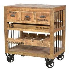 servierwagen antik bis zu 70 westwing. Black Bedroom Furniture Sets. Home Design Ideas
