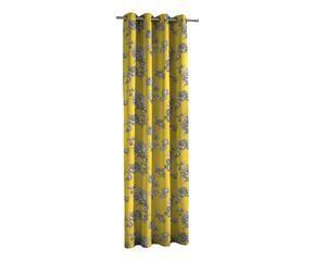 ... Vorhang Loire, Gelb/grau, 135 X 270 Cm ...