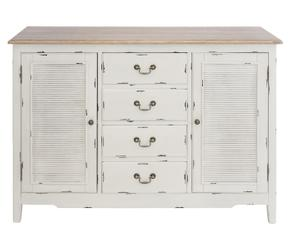 C moda blanca para habitaciones con encanto westwing - Comoda blanca ...