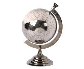 globo andros globo del mundo de metal