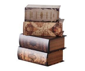 ... Set De 4 Cajas Con Forma De Libro ...
