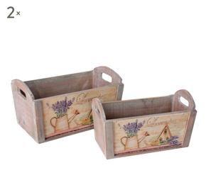 Macetero de madera encanto natural con westwing for Maceteros de madera para interior