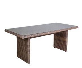 Mesas de mimbre para terrazas look natural westwing - Mesas de mimbre ...
