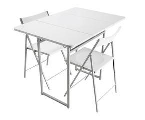 Mesas plegables para terrazas utilidad y estilo westwing for Mesas tableros plegables