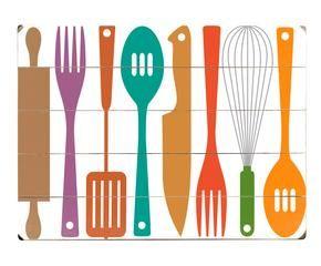 Cocinas de madera naturales y c lidas westwing - Carteles de cocina ...