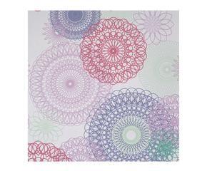 papel pintado geomtrico gris i