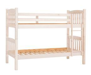 Literas blancas dormitorios con clase inmaculada westwing - Literas blancas ...