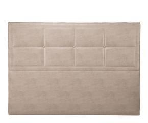 cabecero tapizado en ecopiel elegance panamera gris niebla u xcm
