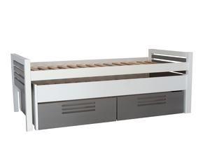 Camas individuales m xima comodidad westwing - Estructura cama individual ...
