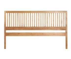 cabecero de cama en madera de teca u x cm