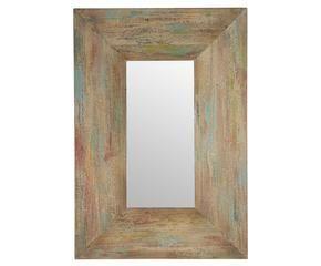 espejo de madera natural - Espejos De Madera