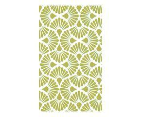 Papel pintado verde frescura para tus paredes westwing - Papel pintado japones ...