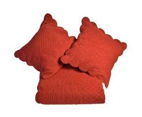 couvre lit rouge ventes priv es westwing. Black Bedroom Furniture Sets. Home Design Ideas