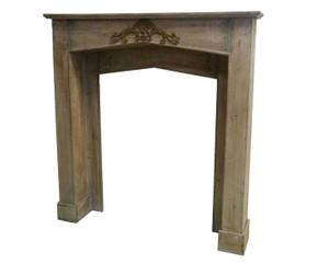 manteau de chemine pin marron l with manteau de cheminee ikea. Black Bedroom Furniture Sets. Home Design Ideas