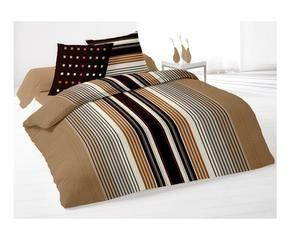housse de couette marron westwing. Black Bedroom Furniture Sets. Home Design Ideas