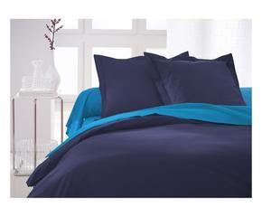 free housse de couette today coton bleu marine with housse de couette style marin. Black Bedroom Furniture Sets. Home Design Ideas
