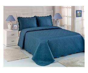 couvre lit bleu pour une touche de gaiet westwing. Black Bedroom Furniture Sets. Home Design Ideas