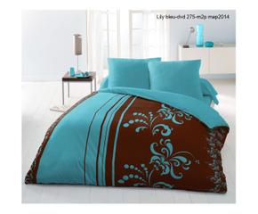 Housse de couette turquoise westwing france - Housse de couette turquoise chocolat ...