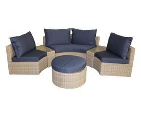 salon de jardin en rotin ventes priv es westwing. Black Bedroom Furniture Sets. Home Design Ideas