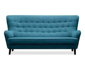 Canap bleu p trole confort et chic westwing for Canape convertible bleu canard