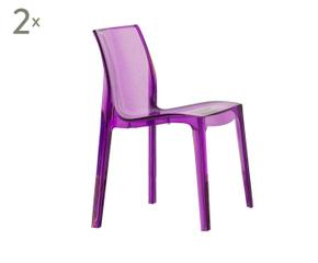 chaise violette westwing ventes priv es d co. Black Bedroom Furniture Sets. Home Design Ideas
