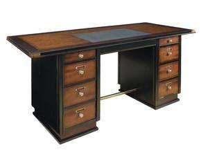 ... Scrivania in legno a 8 cassetti Captain scrivania in legno capo
