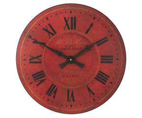Orologi da parete rossi dettagli di design dalani e ora - Orologi di design da parete ...