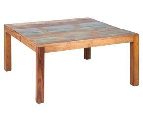 Tavolo in arte povera nuance classiche ed eleganti dalani e ora westwing - Decoupage su mobili in formica ...