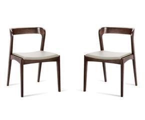 Sedie in stile liberty opere d 39 arte in sala da pranzo for Sedie vestite design