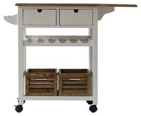Carrello portavivande pratico ed elegante in cucina dalani e ora westwing - Carrelli porta vivande ...