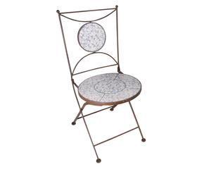 Westwing sedie da giardino bianche eleganti sedute for Sedie vestite design