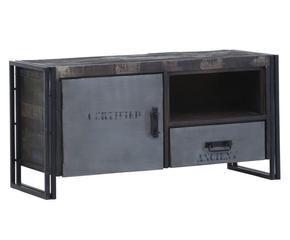 Mobile tv in stile industriale fascino vintage dalani e for Mobili industriali vintage
