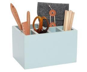 Accessori da scrivania in ceramica di aldo cotti per tronconi