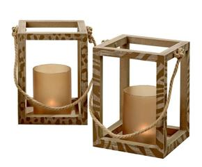 Lanterne natalizie la festa si accende dalani e ora for Lanterne in legno