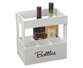 Cestello portabottiglie un brindisi speciale a tavola - Mattoni portabottiglie ...
