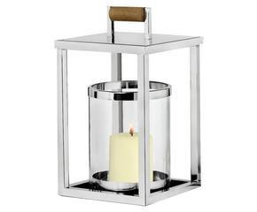 Lanterne in acciaio e vetro romanticismo antico dalani for Lanterne in legno