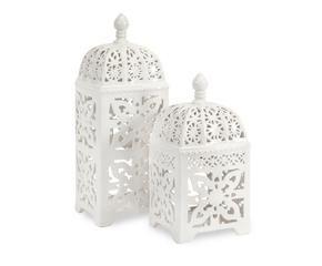 Lanterne in ceramica per un 39 illuminazione con stile for Lanterne bianche