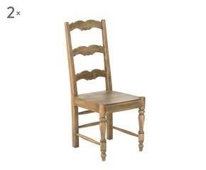 DALANI | Sedie in legno per cucina: arredamento country
