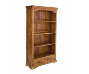 Libreria in legno grezzo: stile e charme | DALANI