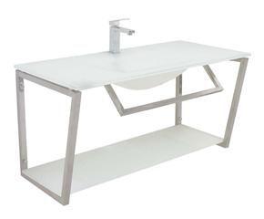 Mobile bagno per lavatrice eleganza e praticit dalani - Lavandini in vetro per bagno ...