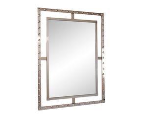 Specchi moderni splendidi accessori design dalani e ora - Specchio cornice bianca ...