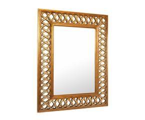 Specchio con cornice barocca eleganza classica dalani e - Specchio cornice nera barocca ...