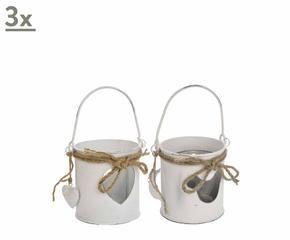 Lanterne shabby chic decorazioni e luci romantiche for Lanterne in legno