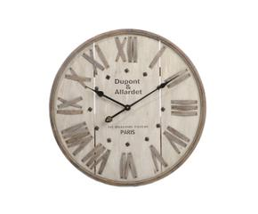 orologio circolare in legno da parete paris d 60 cm