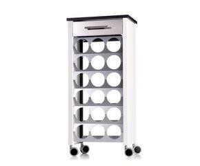 Portabottiglie in acciaio elganza a tavola dalani e ora - Portabottiglie ikea acciaio ...