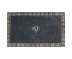 Tappeto grigio dettagli di stile dalani e ora westwing - Tappeto grigio chiaro ...
