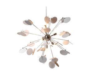 Lampadario Bianco Opaco : Lampadario bianco gocce di luce per la casa dalani e ora westwing