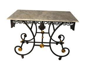 Tavoli In Marmo Da Giardino.Tavolo Da Giardino In Ferro Battuto Piano Mosaico Elegant Tavolo Da